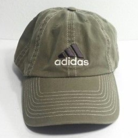 e12cdf3a31f adidas Other - ADIDAS Logo Hat Ball Cap Climalite Adjustable